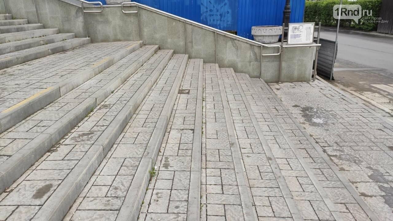 В Ростове начала разрушаться Казанская лестница, фото-10