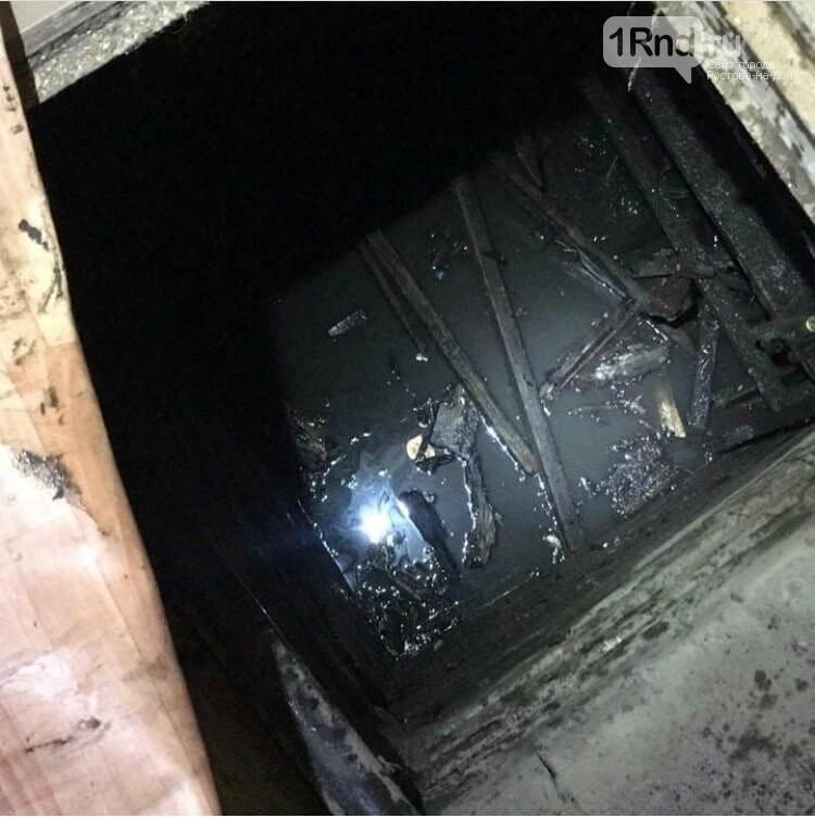 В Ростове из-за ливня подтопило улицы и залило подвал многоэтажки, фото-3