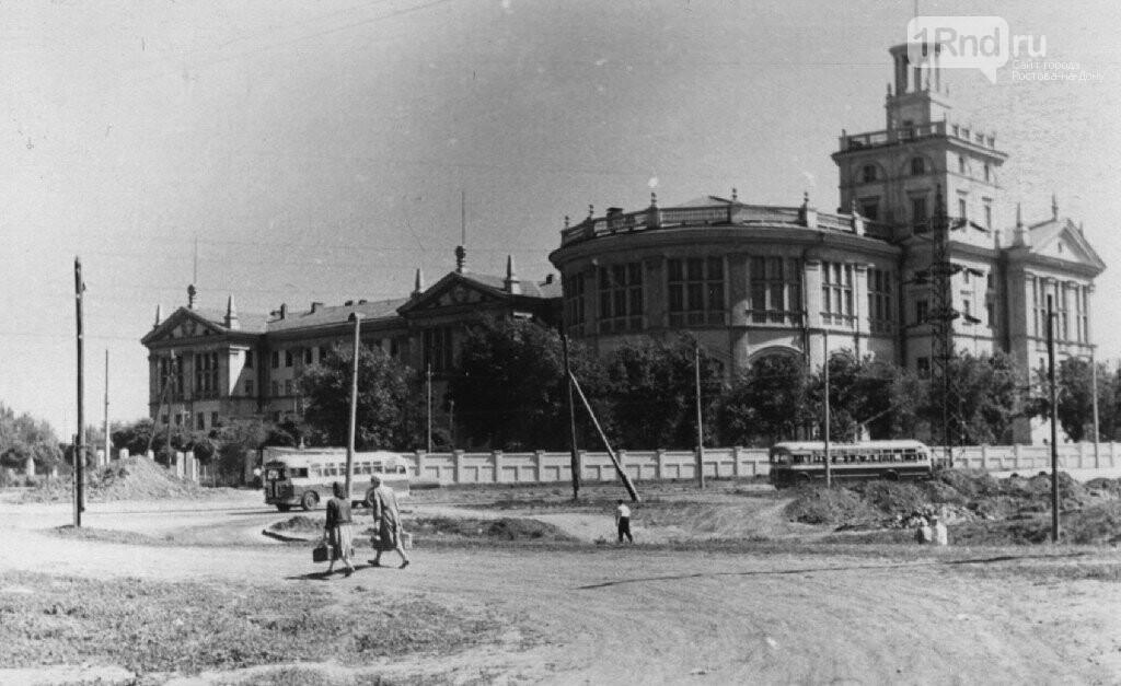 РИИЖТ в 1955-56 годах, кадр rostovbereg.ru