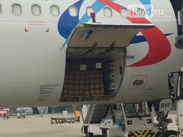 В аэропорт Ростова прибыло 2 млн масок из Китая, фото-1