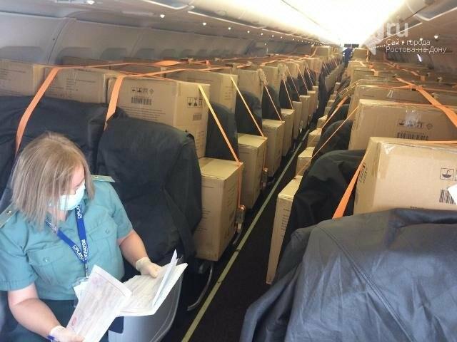 В аэропорт Ростова прибыло 2 млн масок из Китая, фото-2