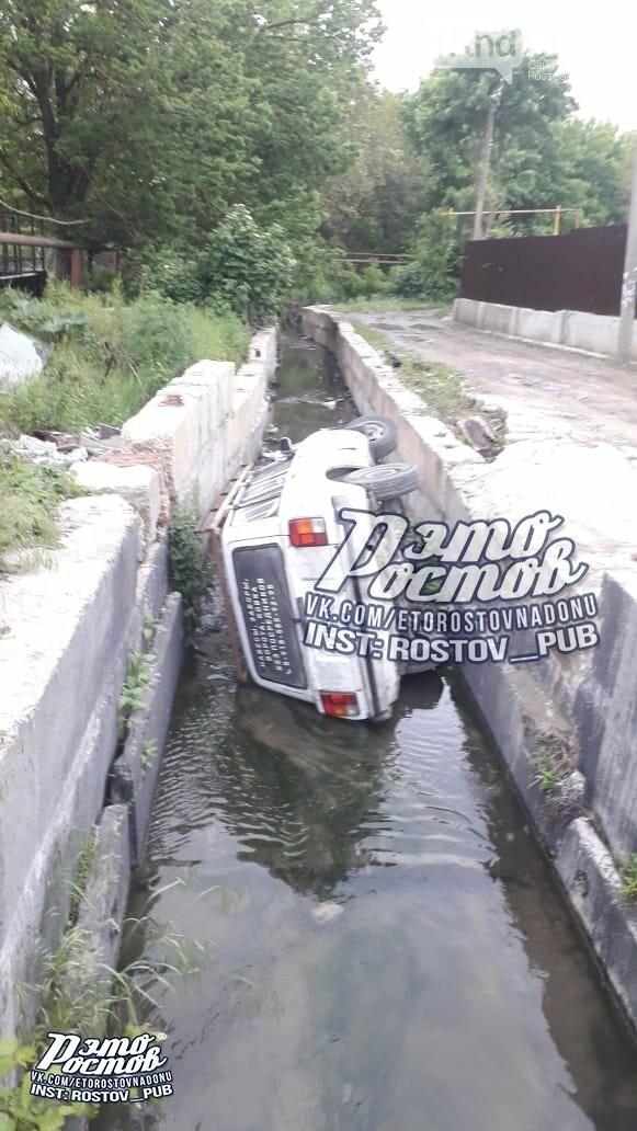 В Ростове машина чуть не утопила своего владельца, фото-3