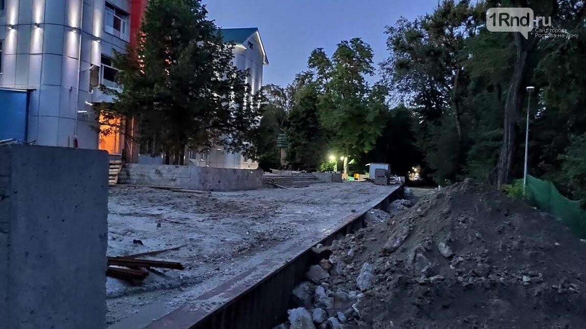 Реконструкция детской железной дороги в Ростове