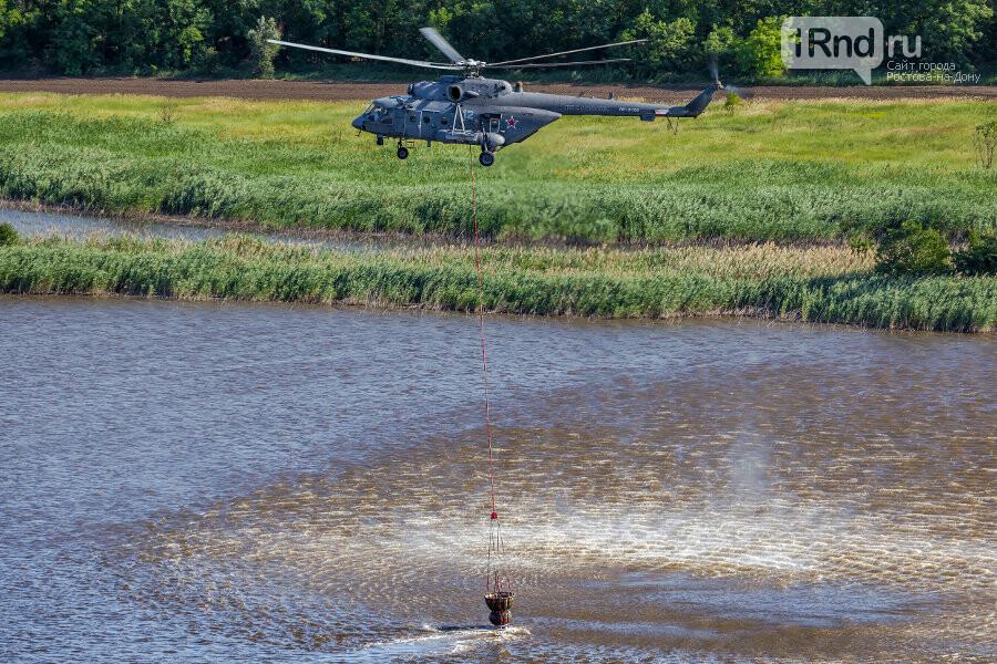 Военная авиация готова приступить к тушению пожаров в Ростовской области, фото-1