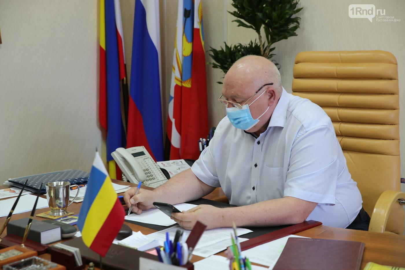 Сити-менеджер Каменска-Шахтинского уволился после разговора с губернатором