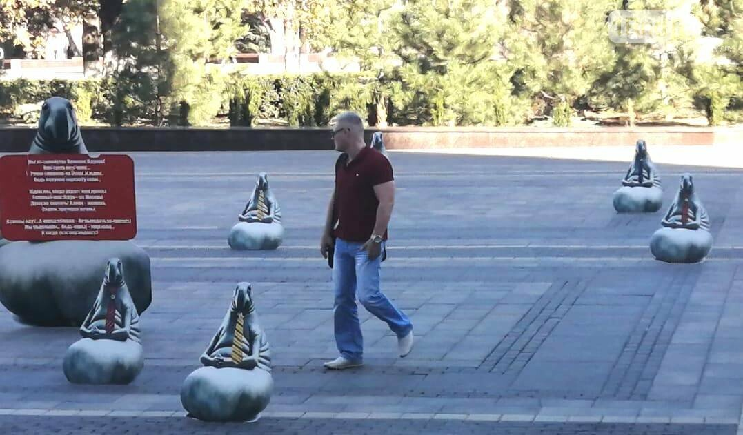 Картонные ждуны заняли площадь Советов в Ростове