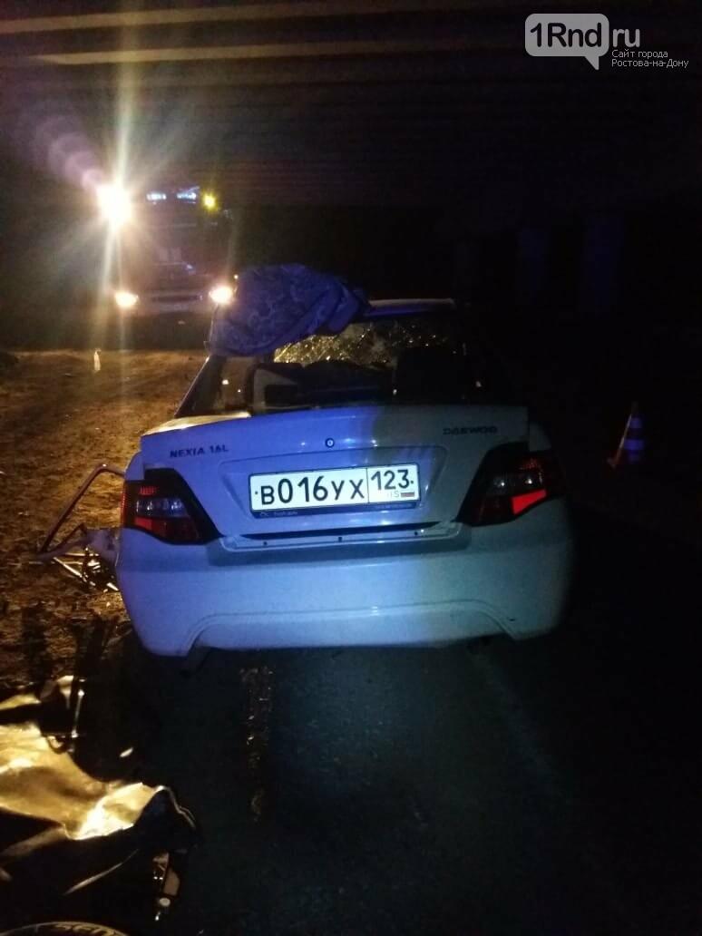 Иномарки на трассе Ростов Азов столкнулись почти влобовую