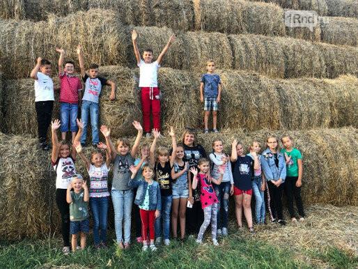 На экскурсиях по ферме школьникам стараются привить любовь к сельскому труду - Фото: Юлия Ломатченко