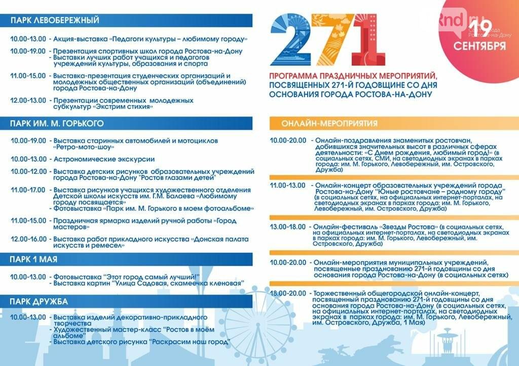 Власти Ростова рассказали, сколько денег на организацию Дня города выделено в этом году, фото-1