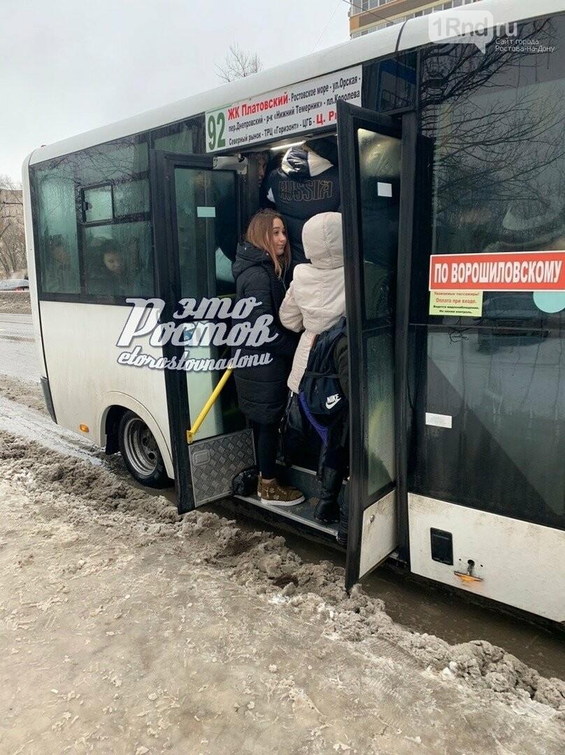 В Ростове просят увеличить вместимость автобуса №92 , фото-1