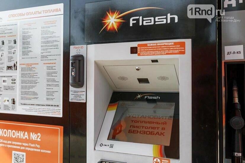 Терминал автоматической заправки Flash