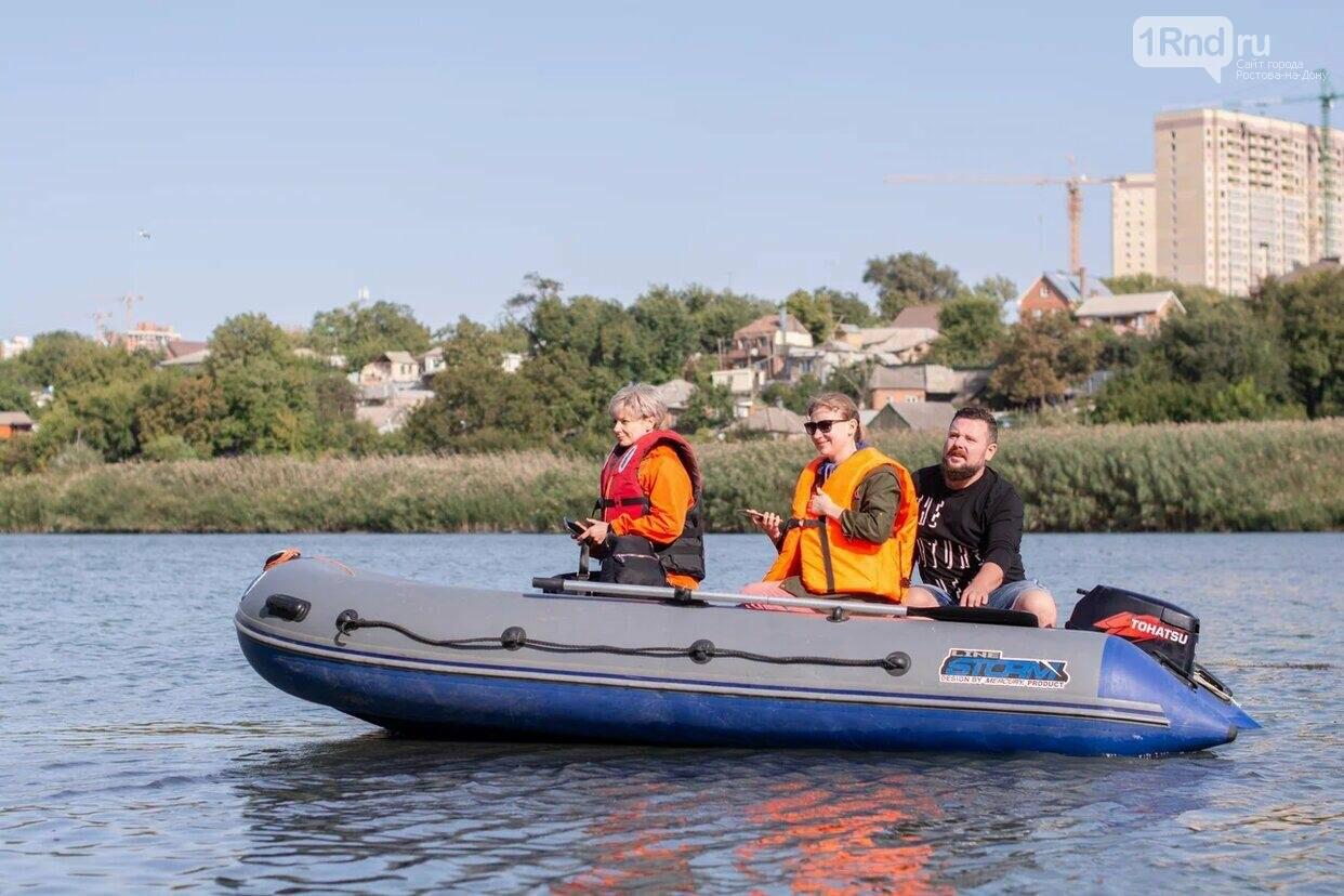 """Это был первый в Ростове субботник на лодках, Фото: """"Тут грязи нет"""""""