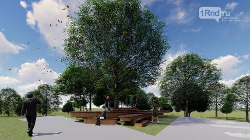 В парке скоро появятся и новые пешеходные зоны, Фото: ДГТУ