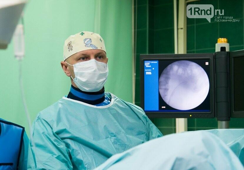 Пётр Трусов на операции, Фото: ОКДЦ