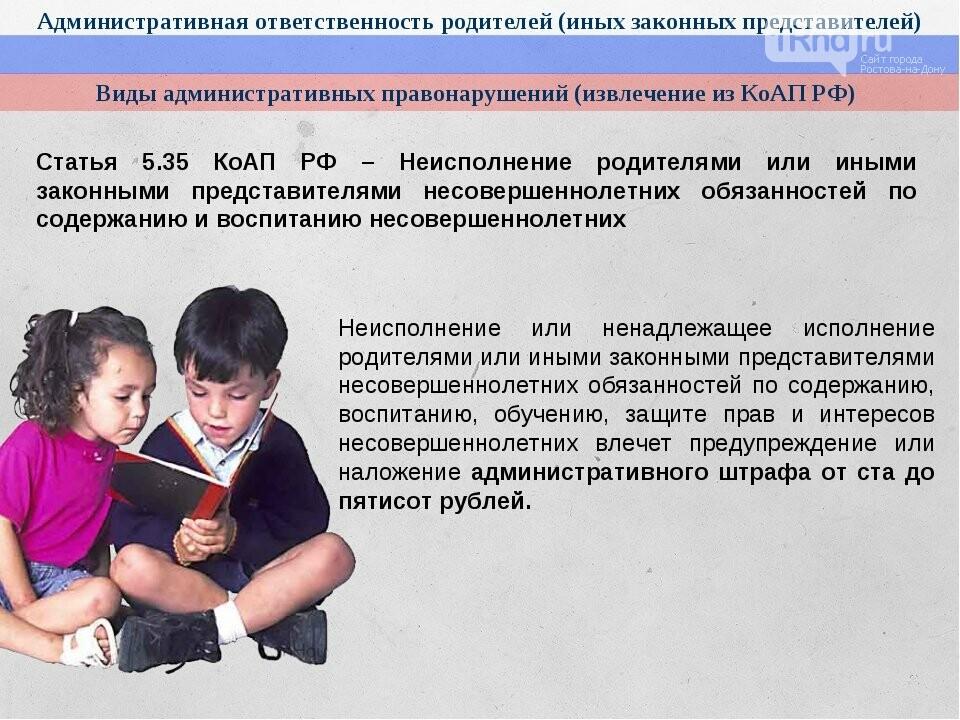 Статья административного кодекса