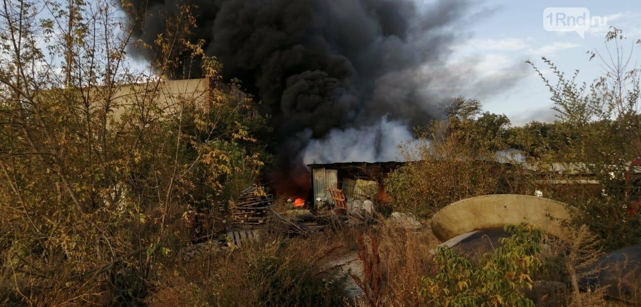 Пожар на складе полимерных материалов в Батайске, 14 октября 2020