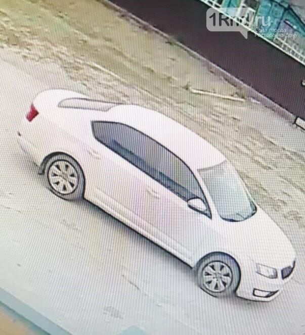 Авто подозреваемого попало на видео