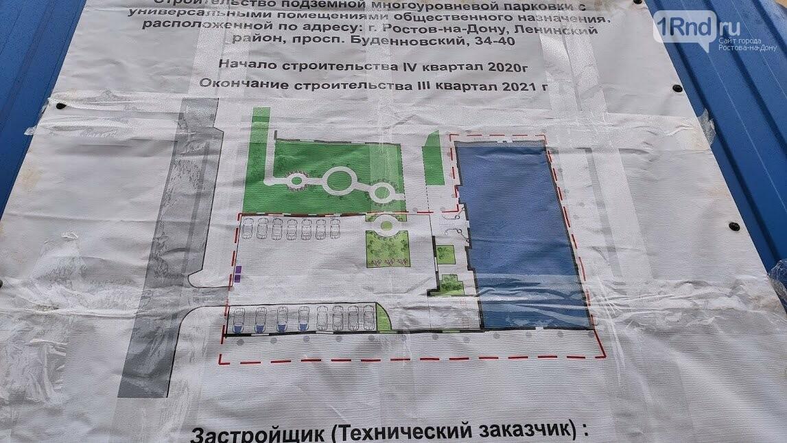 Проект парковки, Фото Анны Дунаевой