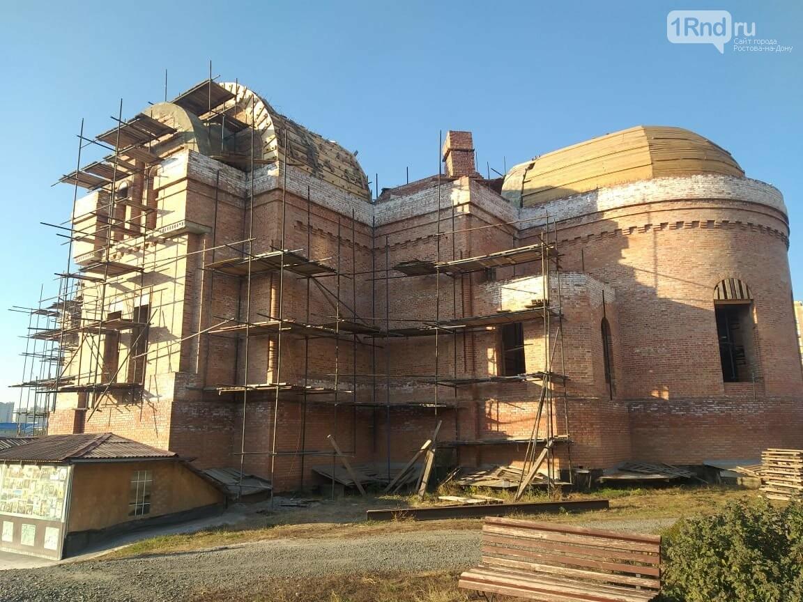 Строящийся основной храм Георгиевского прихода, Фото: www.psgp.ru