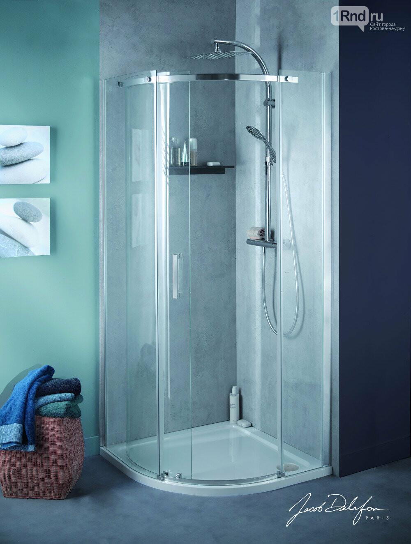 Тропический душ для домашнего SPA, фото: Jacob Delafon