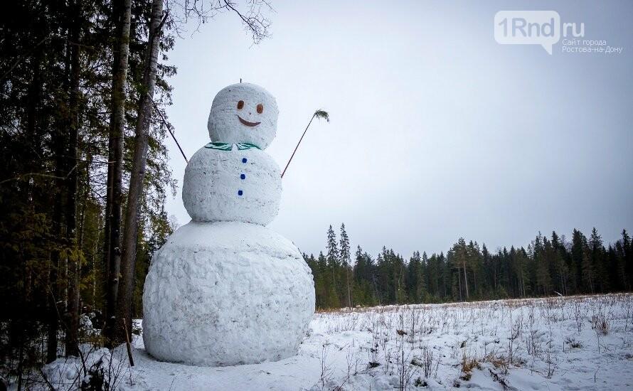Лихославльский 11-метровый снеговик, фото: http://biz-terr.ru