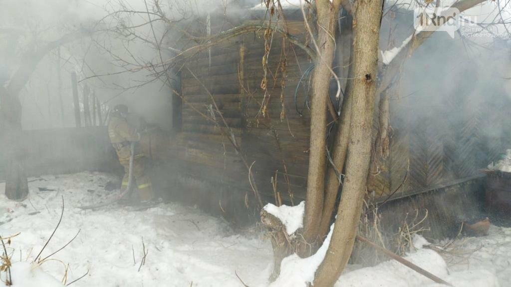 Двое детей погибли, двое и их мать пострадали при пожаре в Чертковском районе, Фото ГУ МЧС РФ по РО