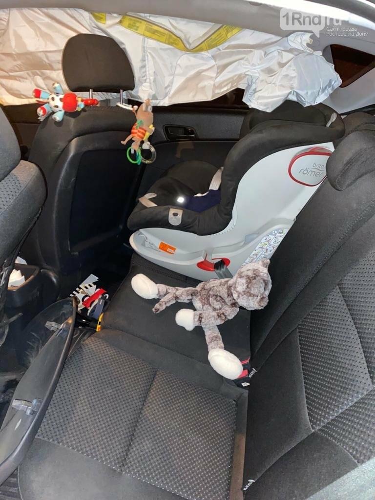 Годовалый ребенок пострадал в ДТП 30 декабря на трассе Ростов Таганрог, Фото ГИБДД РО
