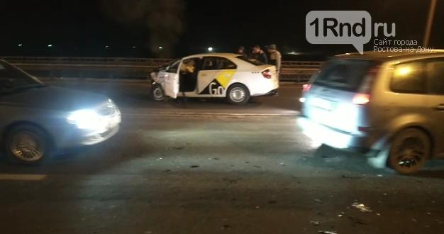 Водитель такси погиб в ДТП у тачанки 12 января, Фото очевидца