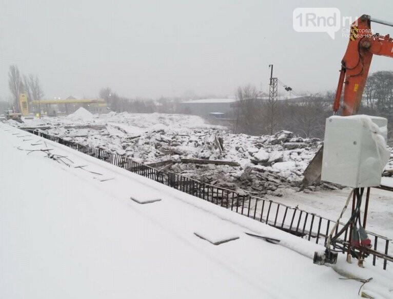 Демонтаж моста Малиновского в Ростове, Фото пресс-службы мэрии