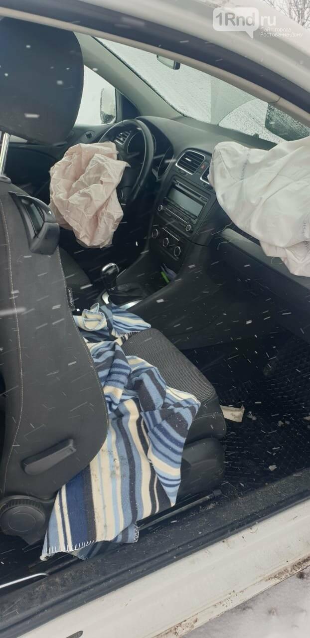 ДТП на трассе Азов - Староминская: в машине был 8-месячный ребенок, Фото ГИБДД РО