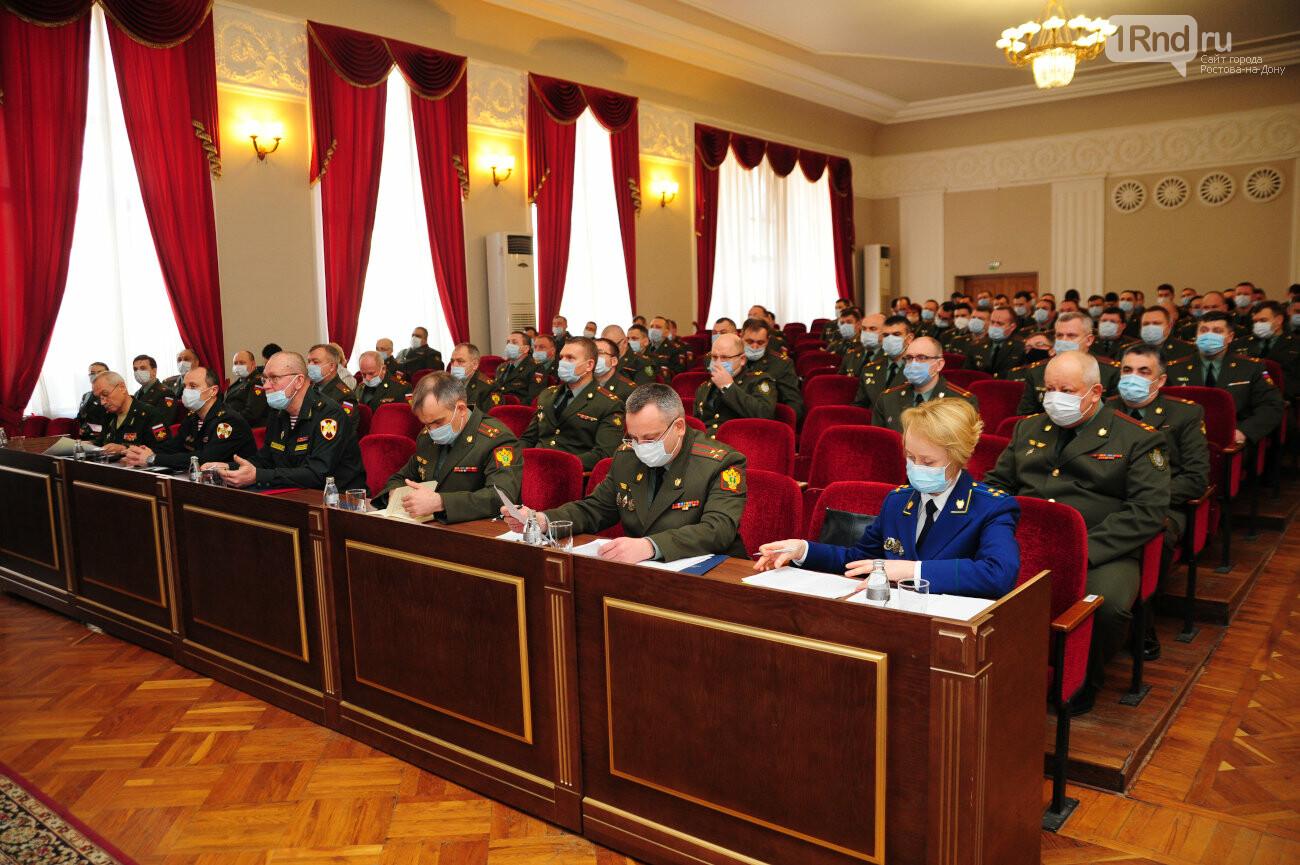 Коллегия военной прокуратуры ЮВО, фото А. Будницкого