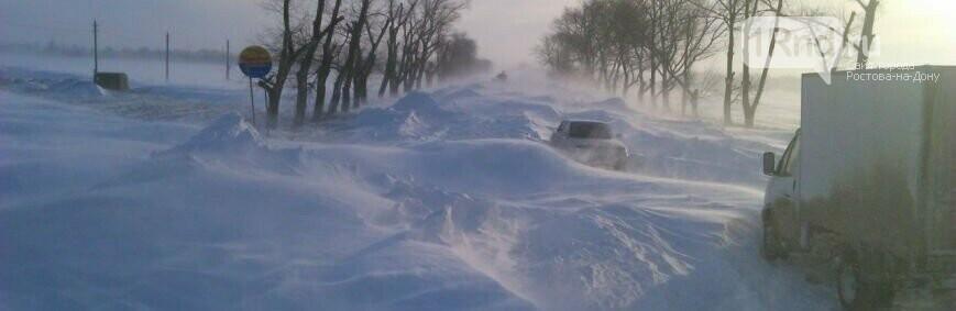 Ростов не засыпало снегом