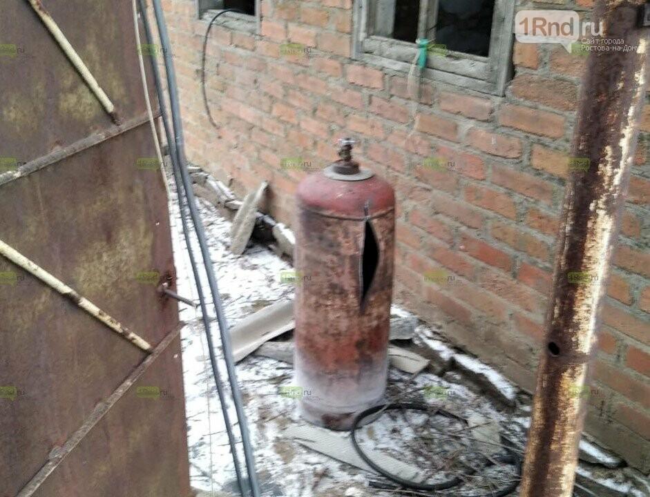 Взрыв газового баллона в Ростовской области, Фото источников 1rnd.ru