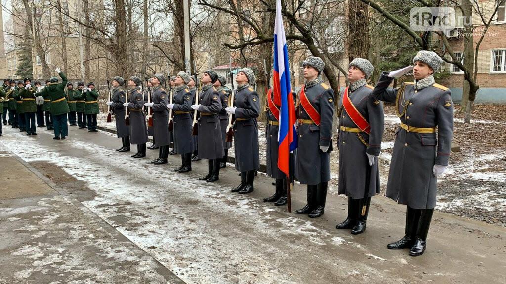 Персональный парад для ветерана Андрея Чирца, Фото пресс-службы мэрии Ростова