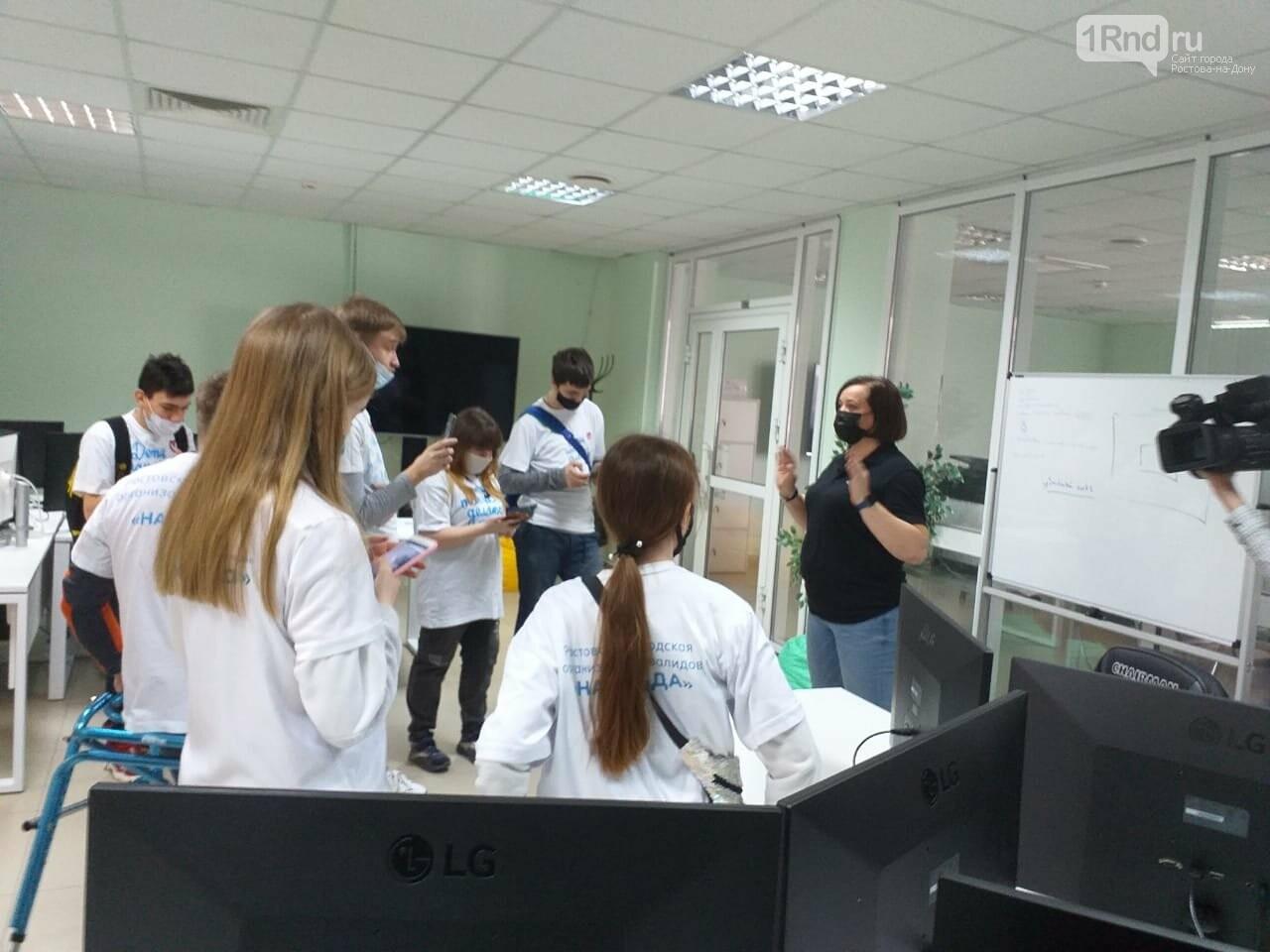 Оксана Тихиня встретила блогеров, фото 1rnd.ru