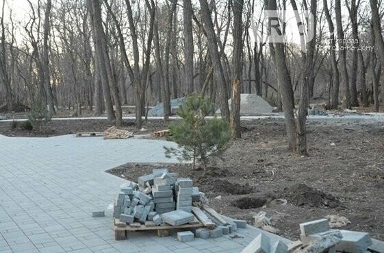 Парк Вересаева делали со срывом сроков и жалобами на качество, Фото пресс-службы мэрии