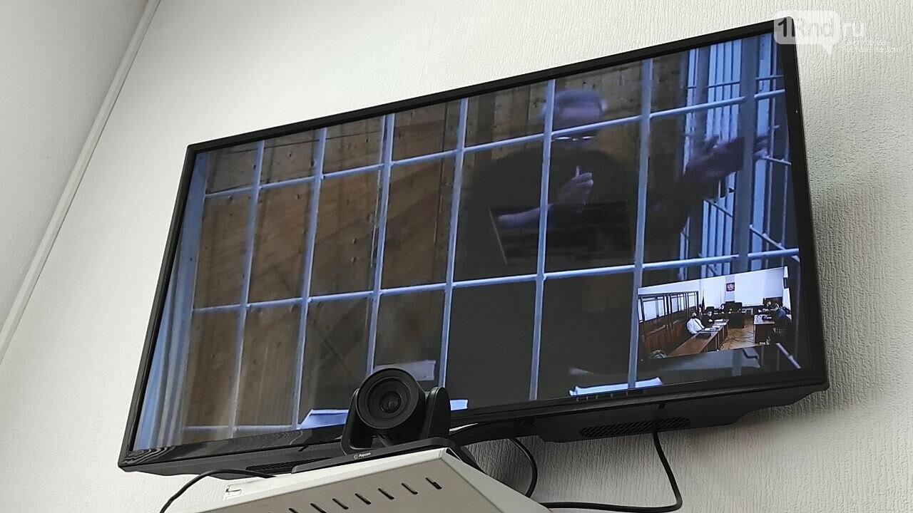 Юрий Жданов на мере пресечения 7 апреля, Фото - ростовский штаб Навального