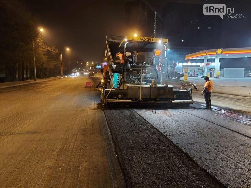 Масштабный ремонт дорог 2021 начался в Ростове, Фото мэрии