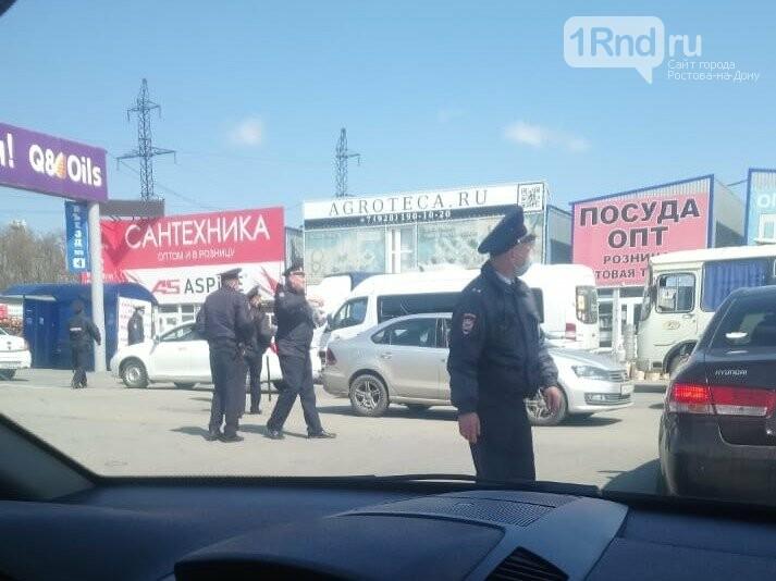 Полиция 27 апреля зачищает рынки под Ростовом, Фото очевидца