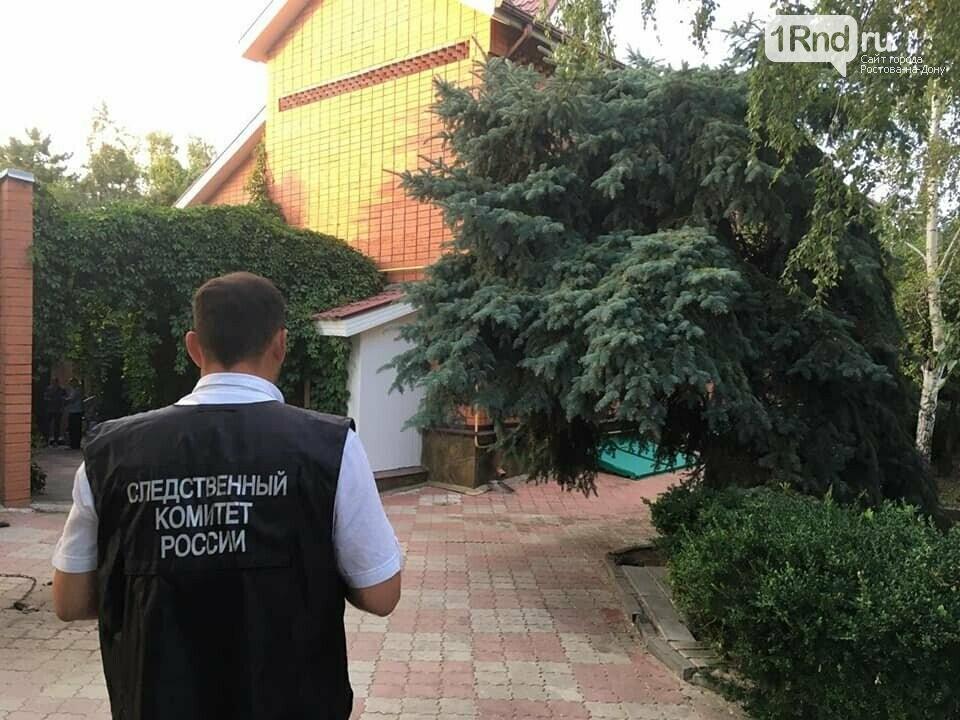 Следователи в доме Ю.Пескова, фото СУ СК РФ по РО