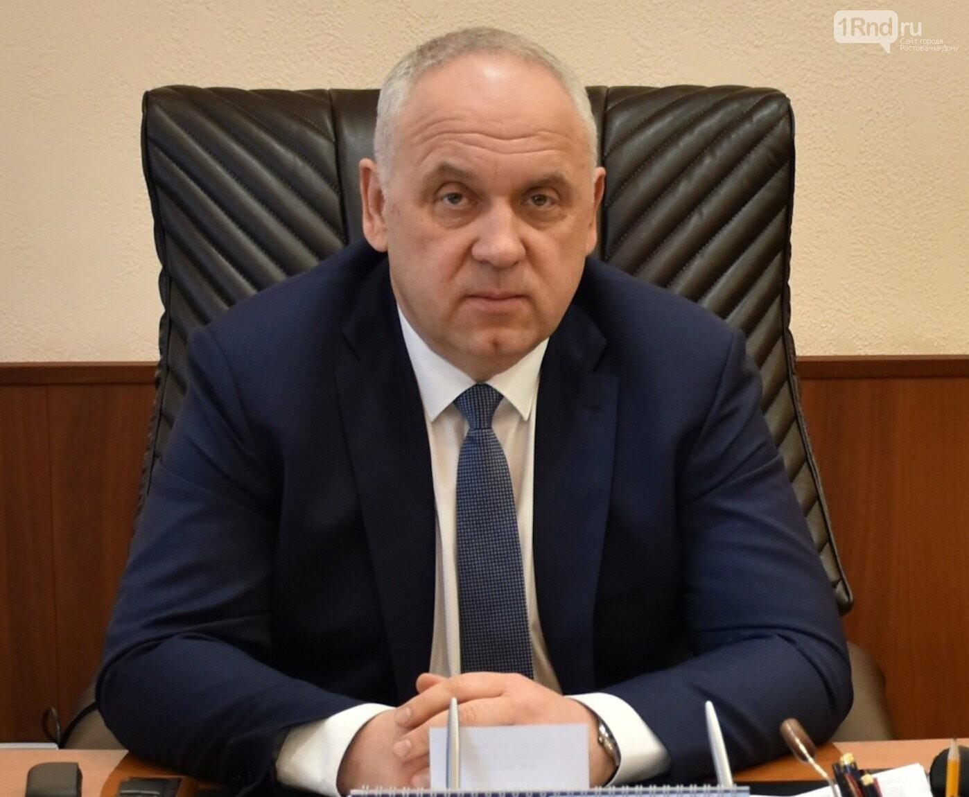 Министр транспорта РО Владимир Окунев