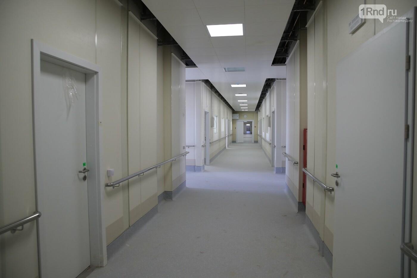 Инфекционная больница Ростова - коридоры и помещения, Фото с сайта ПРО