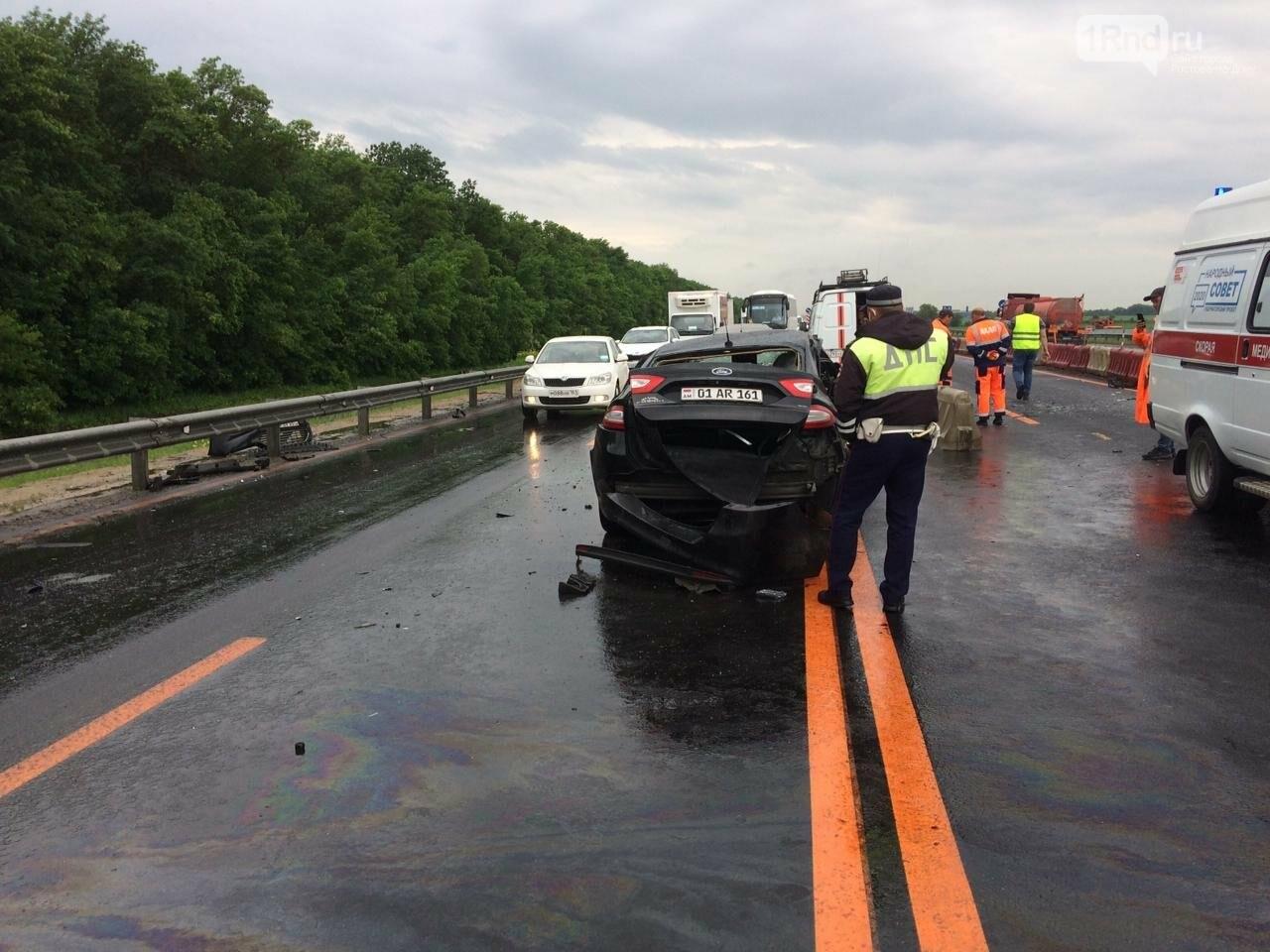 В Ростовской области на трассе М-4 «Дон» в ДТП погибли три человека, фото-2