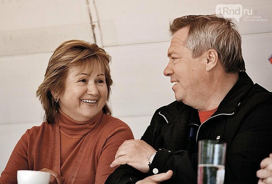 На фото: супруги Василий и Ольга Голубевы