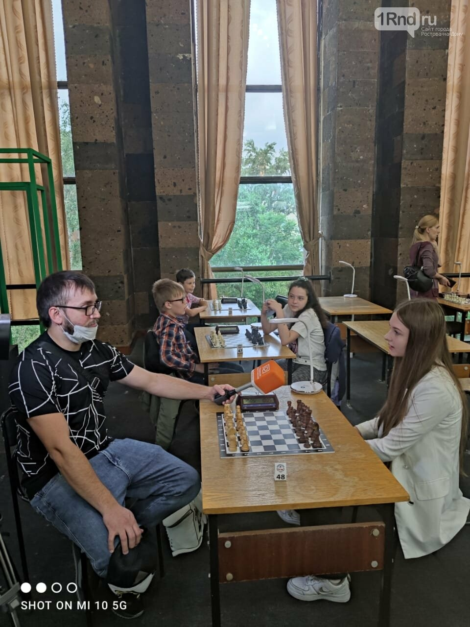 На детский турнир по быстрым шахматам в Ростове приехали участники из трёх регионов, фото-2