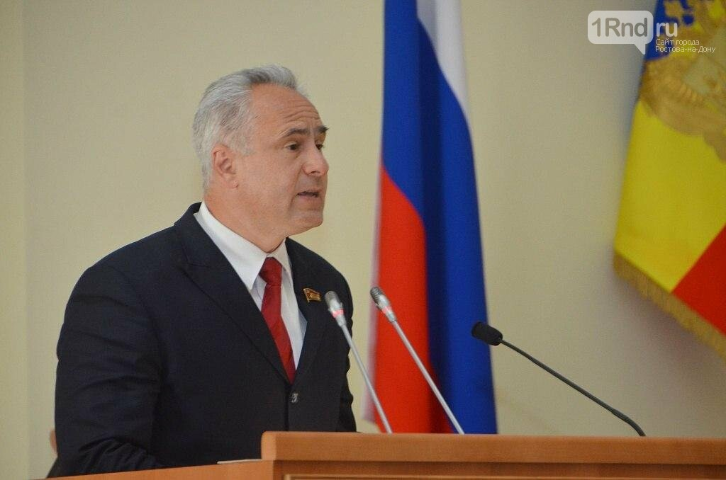 Евгений Бессонов, Фото - Заксобрание РО