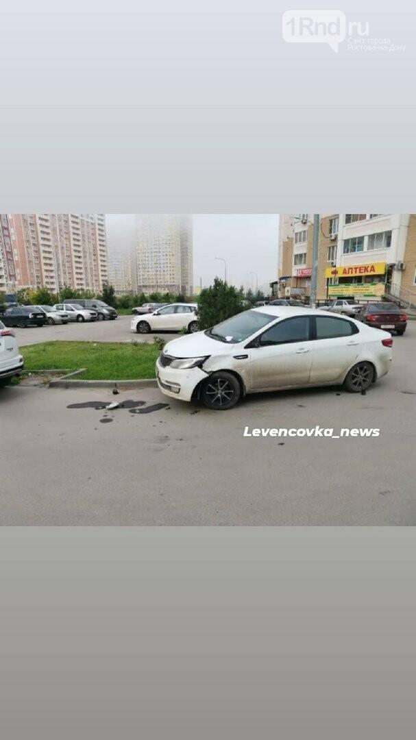 На Левенцовке неизвестный протаранил 5 припаркованных машин и скрылся, фото-2, Фото - Левенцовка_news