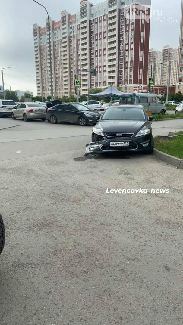 На Левенцовке неизвестный протаранил 5 припаркованных машин и скрылся, фото-3, Фото - Левенцовка_news