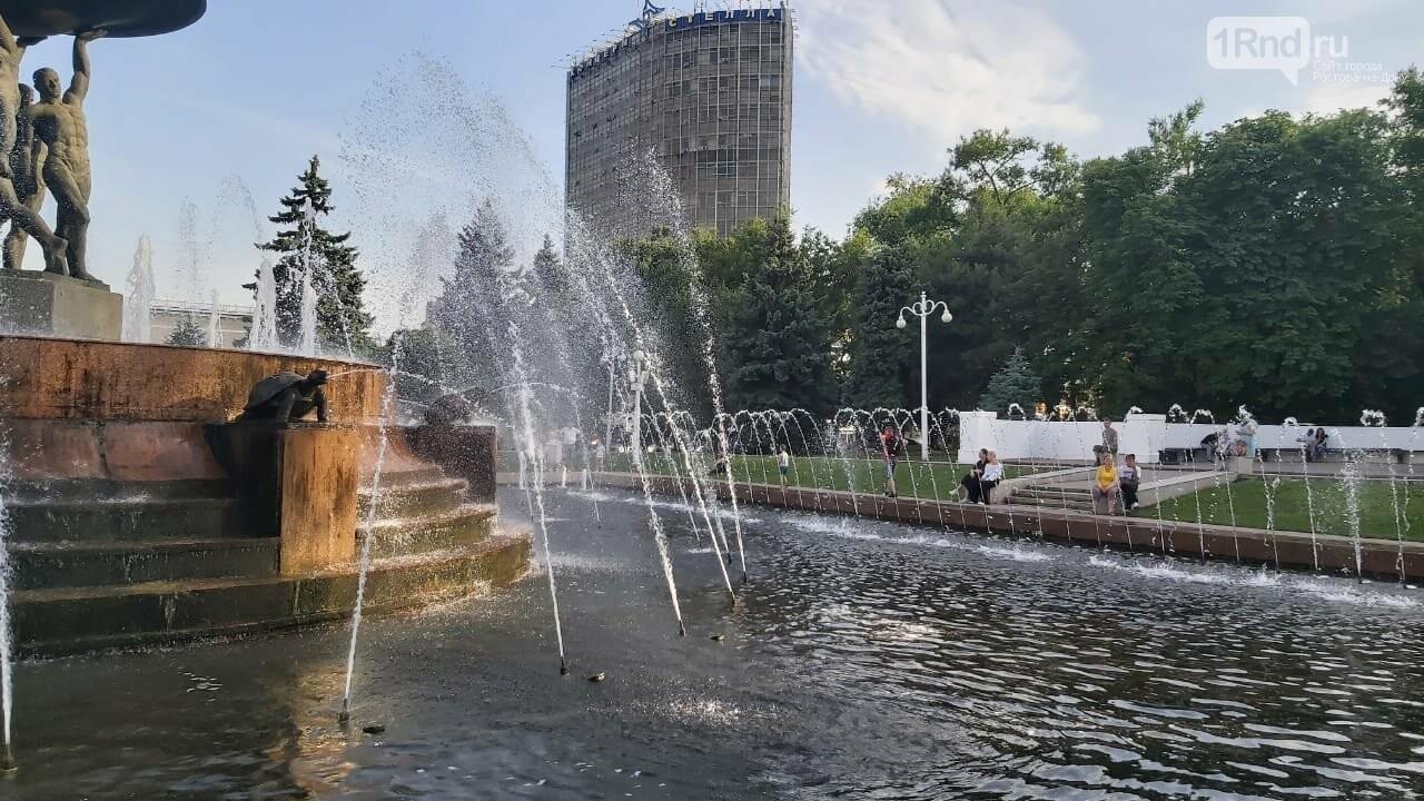 Сильная жара в Ростове
