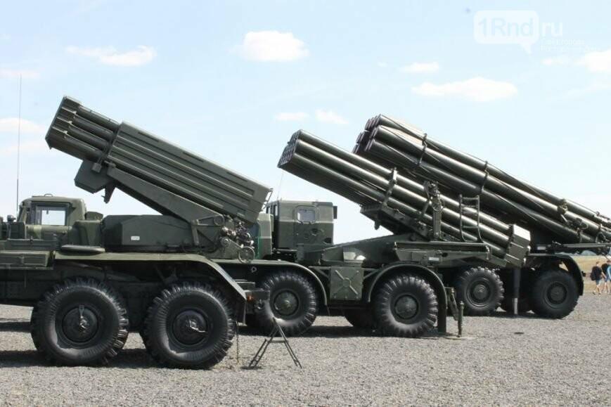 Граждане Новошахтинска могут посетить выставку военной техники наполигоне «Кадамовский»